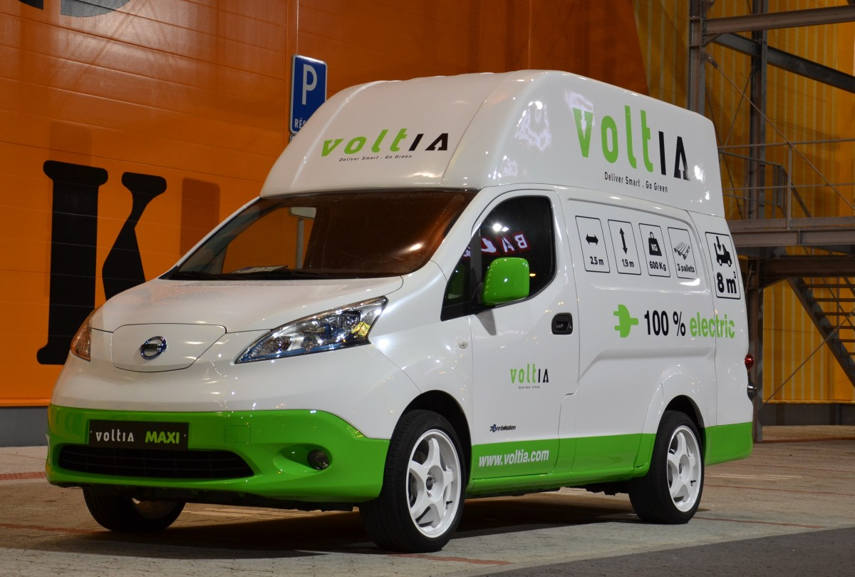 Voltia: a pioneering approach to deploying electric commercial vehicles into commercial fleets
