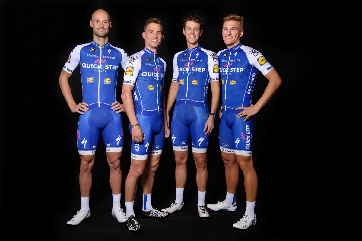 Quick-Step Floors Cycling Team unveil 2017 jersey