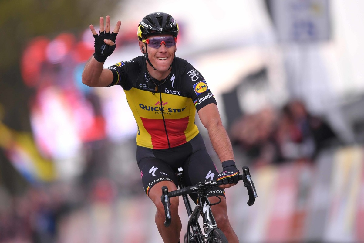 Philippe Gilbert claims his 4th victory in the Amstel Gold Race