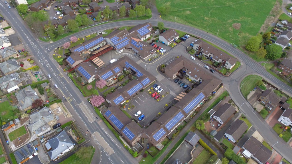 Broom Court Care Home – Energy storage optimises use of solar power at UK Care Home