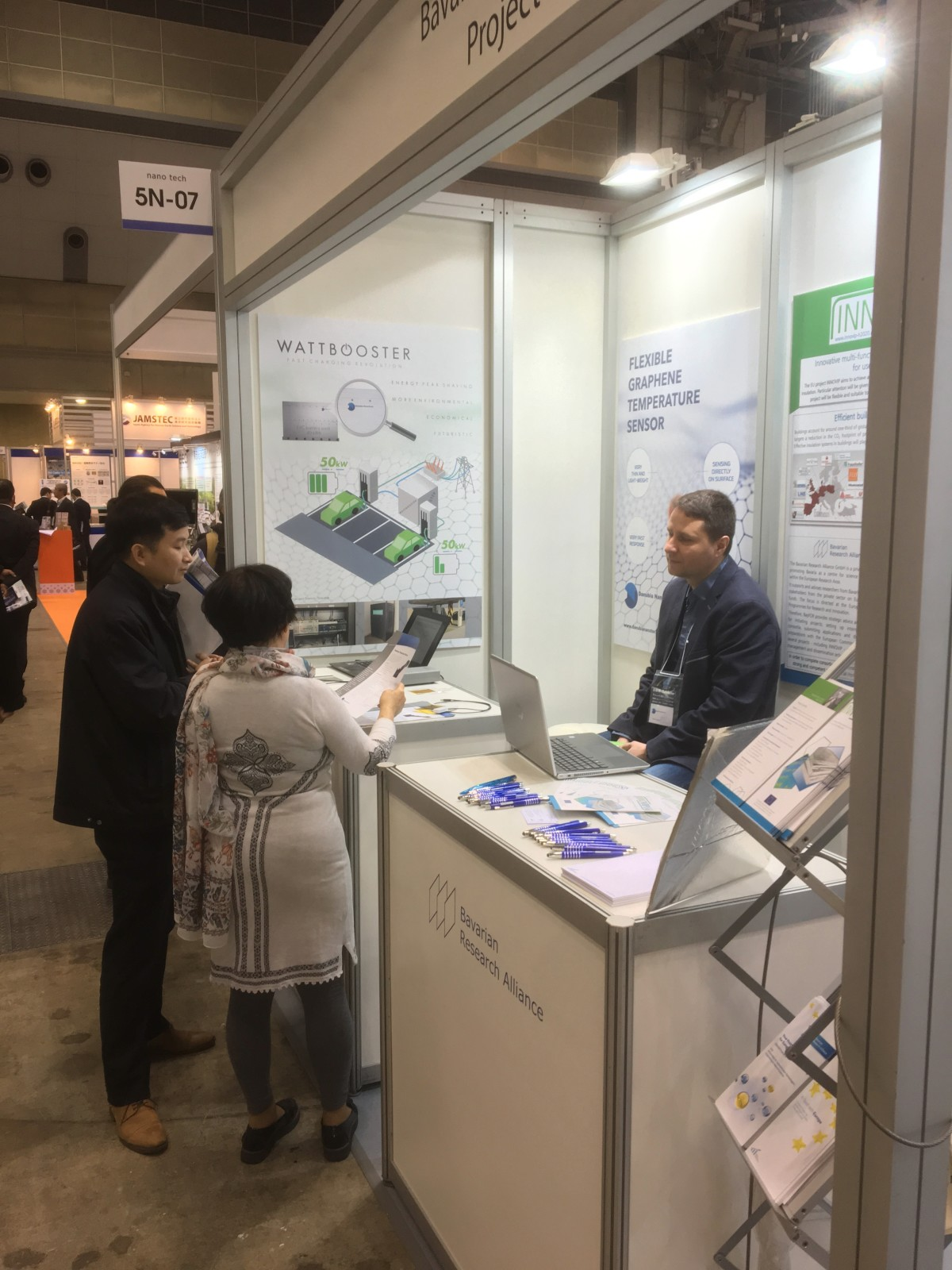 Danubia Nanotech at the International Nanotechnology Exhibition & Conference in Japan