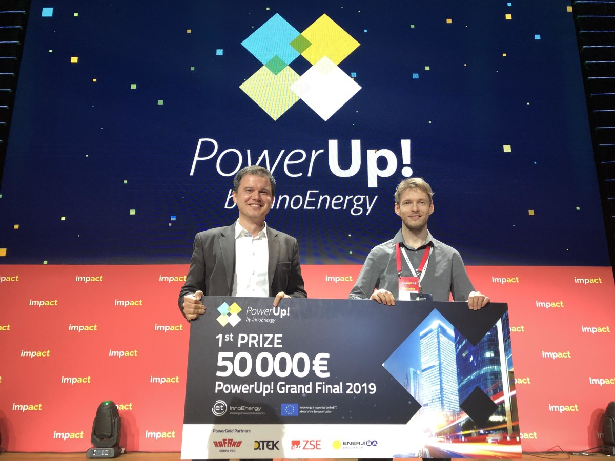 Danubia NanoTech wins the 2019 PowerUp!