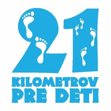 21 kilometers for children. Running to help children!