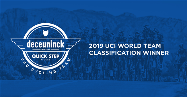 Deceuninck – Quick-Step – Best team in the world for the second straight year