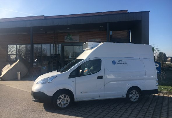Voltia received a certificate for its cooling version of the Nissan eNV200 XL to operate on Austrian roads (the first of its kind in Europe).